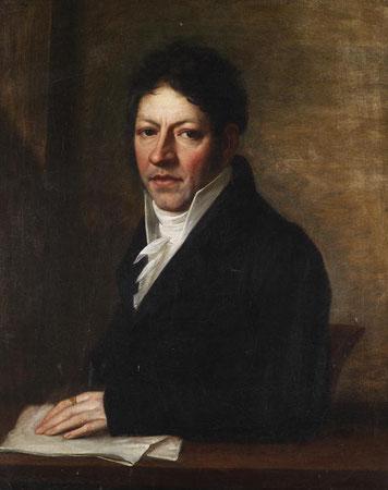 Ölporträt von Johann Georg Zeller um ca. 1800