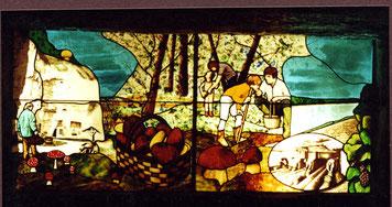 atelier théophile - philippe Brissy -vitrail - montsoreau - val de loire