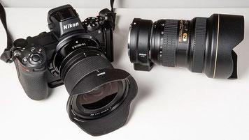 Vergleich NIKON AF-S 14-24 mm 1:2,8 G ED vs. Z 14-30 mm 1:4 S. Foto: bonnescape.de
