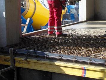 Stahlfaserböden der Industriebodenbau Lengenfelder GmbH in Hirschaid bei Bamberg