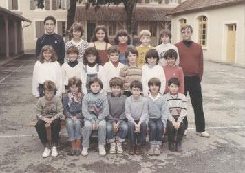 Ecole primaire élémentaire Plaisance du Gers Olleris 1985