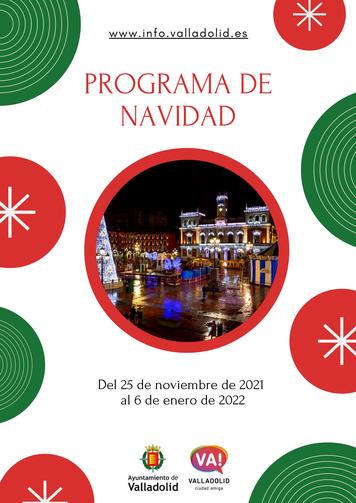 Fiestas en Valladolid Programa de Navidad