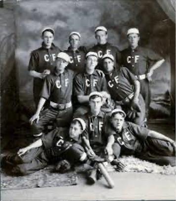 La squadra C.F. (Clifton Forge) Baseball