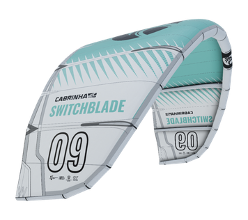 Cabrinha Switchblade White Cyan