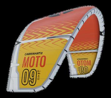 Cabrinha Moto White Yellow, Moto von Cabrinha
