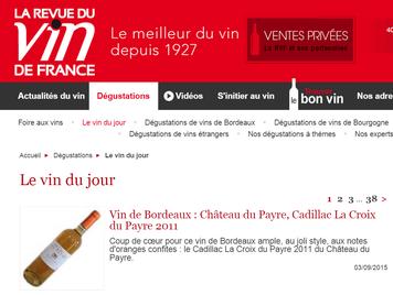 vin de Bordeaux en blanc doux à liquoreux