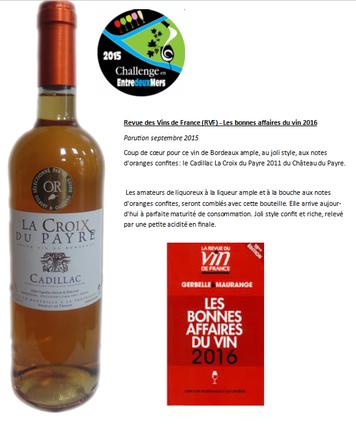 Vin blanc doux liquoreux de Bordeaux comme Sauternes, Loupiac, Sainte Croix du Mont, Sweet Bordeaux médaillés, récompense vins doux, vin vidéo commentés