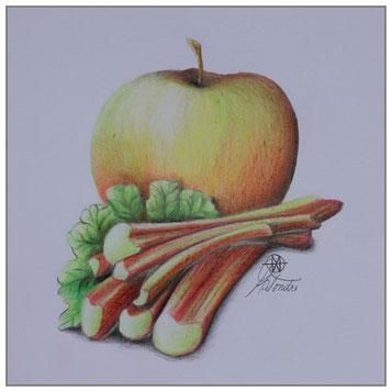 Apfel - Rhabarber