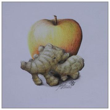 Apfel - Ingwer