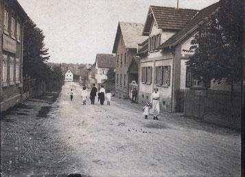 Deuil-La-Barre-Straße Anno 1920