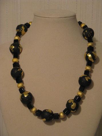 Luxery - Perlen mit echtem Blattgold