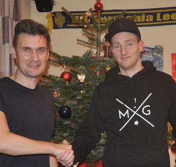 VfL-Teammanager begrüßt Timo Kuhlmann beim VfL