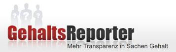 Gehaltsreporter Logo Transparenz Gehalt Gehälter Politiker Promis Arbeiter Angestellte Unternehmer