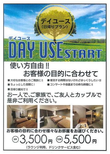 デイユース 日帰りプラン 選べるお部屋 ホテルグランドサン横浜