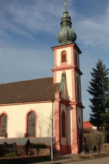 barocke Wallfahrtskirche Maria Hilf in Moosbronn (G. Franke)