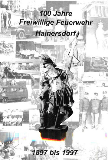 Titelblatt der FF Hainersdorf Chronik