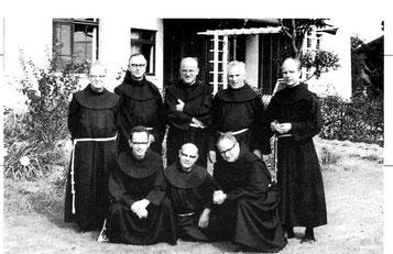フランシスコ会の司祭、修道者
