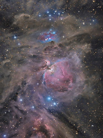 Messier 42 - The Great Orion Nebula and Running Man