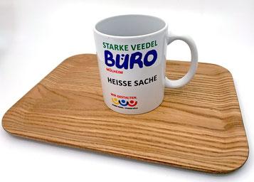 Tasse mit Aufdruck Starke Veedel Büro Mülheim