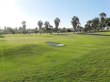 Golfplatz gleich an der Villa