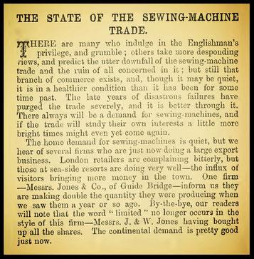 October 1883 The Sewing Machine Gazette