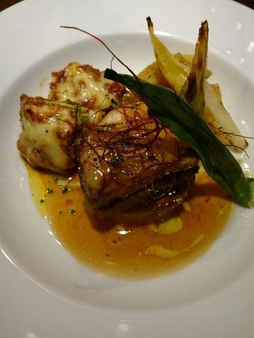 豚バラ肉の洋風角煮