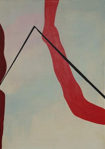 Hydris, Acryl auf Leinwand, 50 x 70 cm
