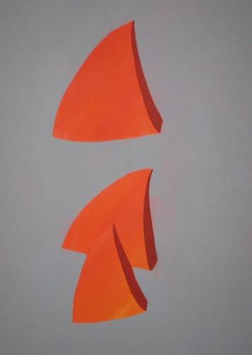 Dimensionen, Acryl auf Leinwand, 50 x 70