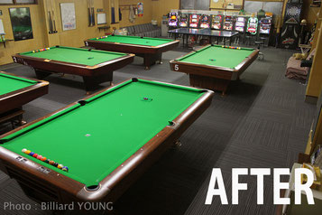 "Pool Hall ""Young"" in Shimane"