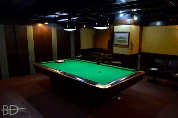 ロサの個室。ラシャの色が替わってる! 以前はゴールドでした