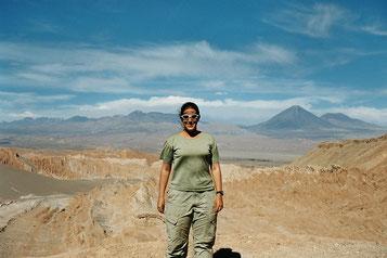 Atacama Wüste in Chile. Das war noch zu der Filmspulen-Zeit.. mit 24 oder 36 Fotos pro Spule, die man zu Hause dann entwickeln lassen musste :-D