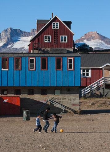 Grönland, Tassilaq, Amassalik, Fussbal