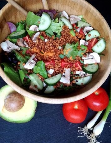 knackiger Salat - eiweißreich und gesund