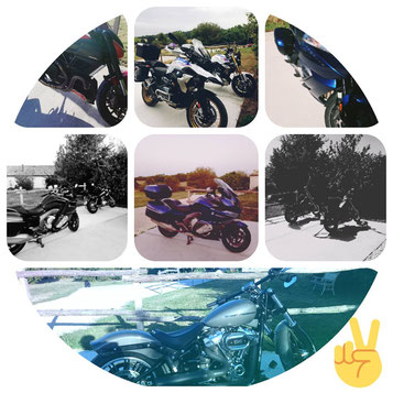 Quelques motos de nos Hôtes
