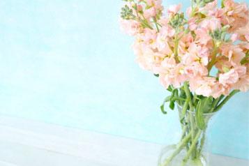 まぶしい太陽の光の下に生える緑の木々。