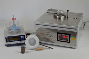 Hydrogen analyzer MARTECH-VTCM 0017 with scales Nagata and accessories