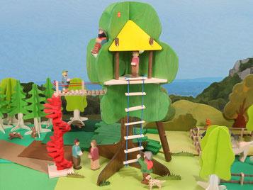 Holzspielzeug-Beck Baumhaus