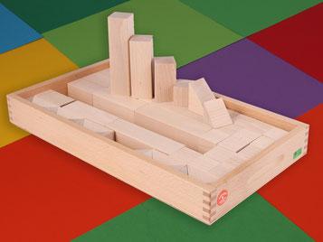 Holzspielzeug Beck Aufsatzkasten für den Bauwagen