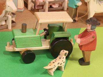 Holzspielzeug-Beck Holz Traktor
