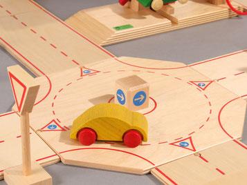 Holzspielzeug-Beck Kreisverkehr