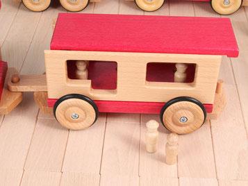 Holzspielzeug Beck Personenwagen für Holz Eisenbahn