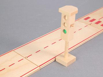 Holzspielzeug-Beck Verkehrsampel