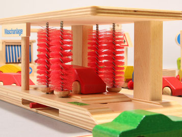 Holzspielzeug-Beck Waschanlage