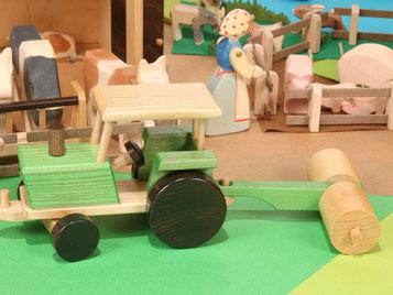 Holzspielzeug-Beck Holz Ackerwalze