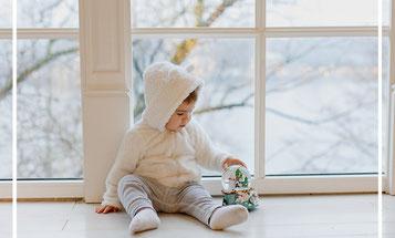 alta costura para niños