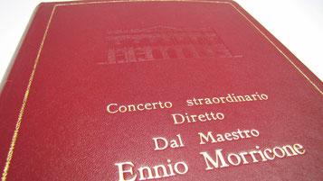 Conti Borbone bookbinder for Ennio Morricone