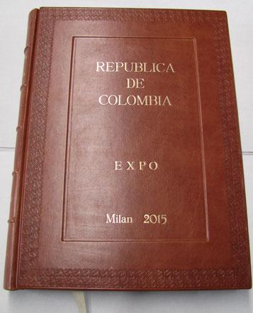 Signature book Colombia Expo 2015 by Conti Borbone