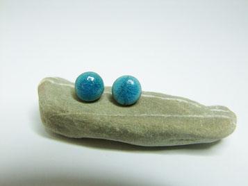 puces d'oreilles ceramique raku atelier simplement terre