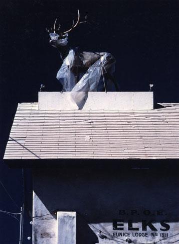 Part of an exterior film set under construction; Arizona, USA.