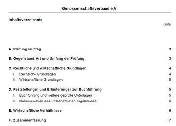 Prüfungsbericht S. 1